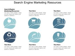 Search Engine Marketing Resources Ppt Powerpoint Presentation Show Layout Ideas Cpb