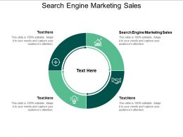 Search Engine Marketing Sales Ppt Powerpoint Presentation Slides Images Cpb