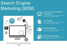Search Engine Marketing Sample Ppt Files