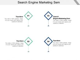 Search Engine Marketing Sem Ppt Powerpoint Presentation Infographics Background Images Cpb