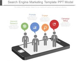 Search Engine Marketing Template Ppt Model