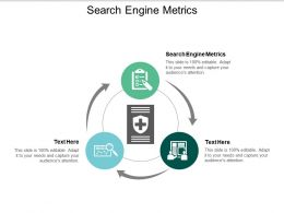 Search Engine Metrics Ppt Powerpoint Presentation Slides Clipart Cpb