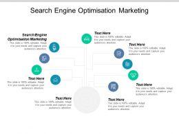 Search Engine Optimisation Marketing Ppt Powerpoint Presentation Slides Design Inspiration Cpb