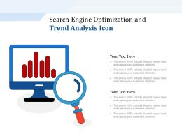 Search Engine Optimization And Trend Analysis Icon
