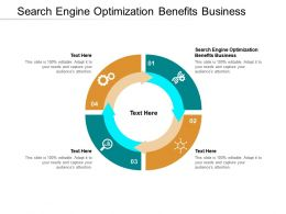 Search Engine Optimization Benefits Business Ppt Powerpoint Presentation Infographic Template Cpb