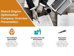 Search Engine Optimization Company Overview Presentation Negotiation Strategies Cpb