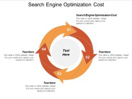 Search Engine Optimization Cost Ppt Powerpoint Presentation Icon Topics Cpb