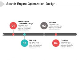 Search Engine Optimization Design Ppt Powerpoint Presentation Infographics Templates Cpb