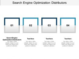 Search Engine Optimization Distributors Ppt Powerpoint Presentation Inspiration Cpb