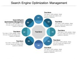 Search Engine Optimization Management Ppt Powerpoint Presentation Professional Topics Cpb