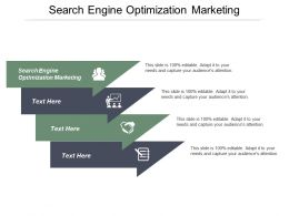 Search Engine Optimization Marketing Ppt Powerpoint Presentation Icon Graphics Design Cpb