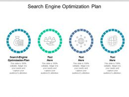 Search Engine Optimization Plan Ppt Powerpoint Presentation Slides Elements Cpb