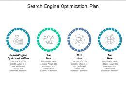 Search Engine Optimization Plan Ppt Powerpoint Presentation Slides Elements Cpb