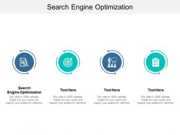 Search Engine Optimization Ppt Powerpoint Presentation Slides Icons Cpb
