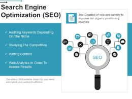 Search Engine Optimization Ppt Samples