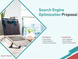 Search Engine Optimization Proposal Powerpoint Presentation Slides