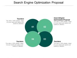Search Engine Optimization Proposal Ppt Powerpoint Presentation Infographic Template Mockup Cpb