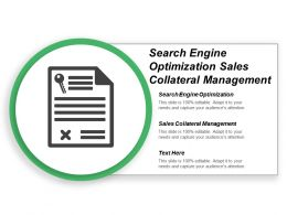 Search Engine Optimization Sales Collateral Management Customer Management