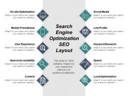 Search Engine Optimization Seo Layout Ppt Sample File