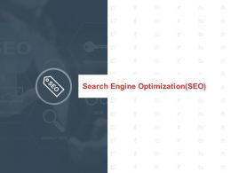 Search Engine Optimization Seo Management Ppt Powerpoint Presentation Icon