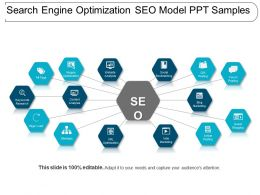 Search Engine Optimization Seo Model Ppt Samples