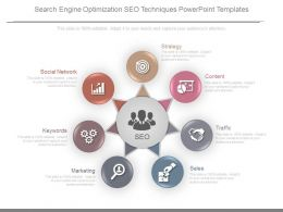 Search Engine Optimization Seo Techniques Powerpoint Templates