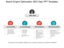 Search Engine Optimization Seo Topic PPT Templates