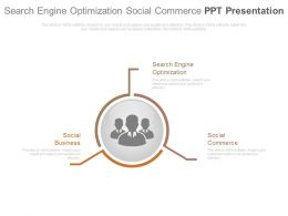 Search Engine Optimization Social Commerce Ppt Presentation