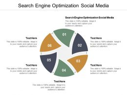 Search Engine Optimization Social Media Ppt Powerpoint Presentation Summary Rules Cpb