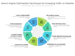 Search Engine Optimization Techniques For Increasing Traffic On Website