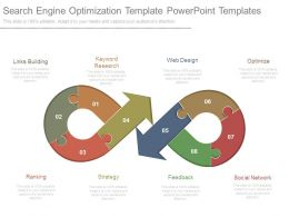 Search Engine Optimization Template Powerpoint Templates