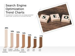 Search Engine Optimization Trend Charts