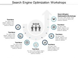 Search Engine Optimization Workshops Ppt Powerpoint Presentation Gallery Graphics Cpb