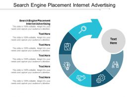 Search Engine Placement Internet Advertising Ppt Powerpoint Presentation Gallery Microsoft Cpb