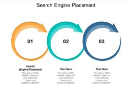 Search Engine Placement Ppt Powerpoint Presentation Model Show Cpb