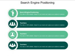 Search Engine Positioning Ppt Powerpoint Presentation Layouts Aids Cpb