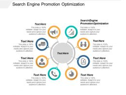 Search Engine Promotion Optimization Ppt Powerpoint Presentation Model Layouts Cpb