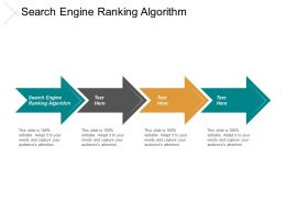 Search Engine Ranking Algorithm Ppt Powerpoint Presentation Portfolio Inspiration Cpb