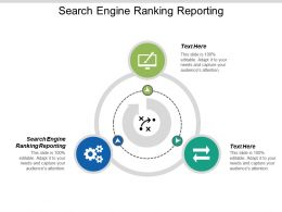 Search Engine Ranking Reporting Ppt Powerpoint Presentation Professional Samples Cpb