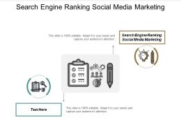 Search Engine Ranking Social Media Marketing Ppt Powerpoint Presentation File Graphics Cpb