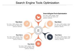 Search Engine Tools Optimization Ppt Powerpoint Presentation Icon Example File Cpb