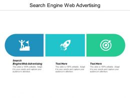 Search Engine Web Advertising Ppt Powerpoint Presentation Ideas Visuals Cpb