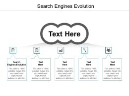 Search Engines Evolution Ppt Powerpoint Presentation Ideas Brochure Cpb