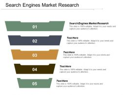 Search Engines Market Research Ppt Powerpoint Presentation Infographics Themes Cpb