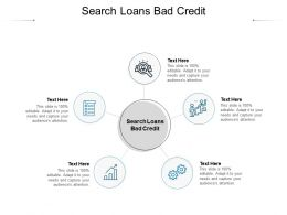 Search Loans Bad Credit Ppt Powerpoint Presentation Summary Show Cpb