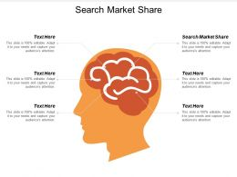 Search Market Share Ppt Powerpoint Presentation Infographics Design Ideas Cpb