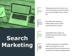 Search Marketing Ppt File Good