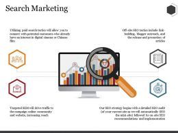 Search Marketing Ppt Summary Outline