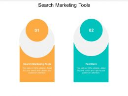 Search Marketing Tools Ppt Powerpoint Presentation Gallery Show Cpb