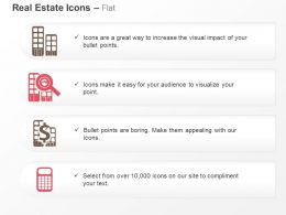 search_multistory_apartment_value_calculation_ppt_icons_graphics_Slide01